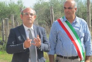 Giovanni Fortunato Presidente del consiglio e Dionigi Fortunato sindaco del Comune di Santa Marina