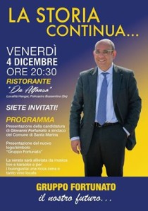 Giovanni Fortunato manifesto