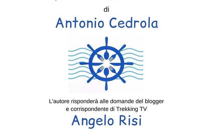 """Torre Orsaia, Presentazione libro:""""Diario di…brodo"""" di Antonio Cedrola"""
