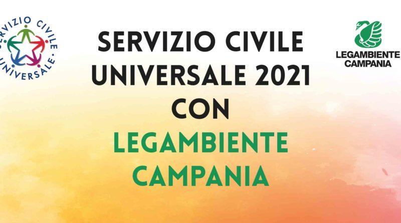 Legambiente Campania, bando per il Servizio Civile Universale