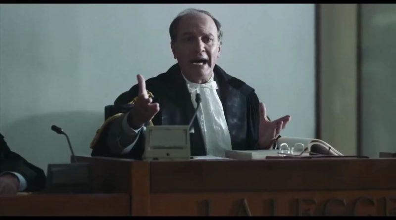 """Scario, l'attore Bruno Cariello sul set del film """" Il Traditore """" . La sua esperienza nelle vesti nel Giudice Giordano."""